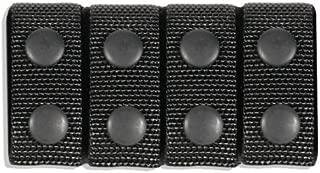 BLACKHAWK! Traditional Black Cordura 2 -Inch Nylon Belt Keeper - Set of 4