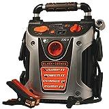 Black & Decker Jump Starter 500 Amp Caricabatterie Stazione di Energia con Compressore Aria Luce di Emergenza e Attacco USB 12V Avviatore di Emergenza Batteria Portatile con Morsetti