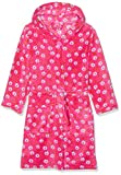 Playshoes M dchen Fleece-bademantel Blumen Bademantel, Rosa (Pink 18), 86-92 EU