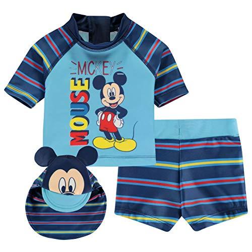 Conjunto de baño para bebé, 3 unidades, de Disney Disney Mickey 0-3 Meses