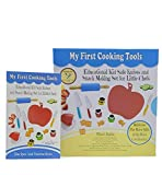 My First Cooking Tools - Educational Kid Safe Knives & Snack Making Gift Set for Little Chefs - Age...