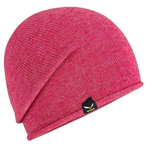 Salewa Fanes Alpine Wool Perform Beanie Rot, Kopfbedeckung, Größe One Size - Farbe Rose Red