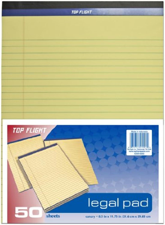 Top Flight Flight Flight Legal Pad, 21,6 x 29,8 cm, 0,95 Zoll Rule, Kanarienvögel, 50 Blatt pro Block (4620509) B004NRP1BO   Sale Online Shop    Umweltfreundlich    Clearance Sale  886960