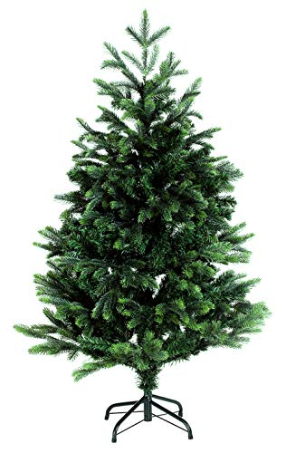 120cm BonTree Tanne Weihnachtsbaum Tannenbaum künstlich aus Spritzguss/PVC-Mix
