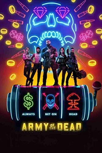 Army Of The Dead: Army of the Dead Movie | Fans Of TvSeries Army of the Dead Notebook Journal Gift