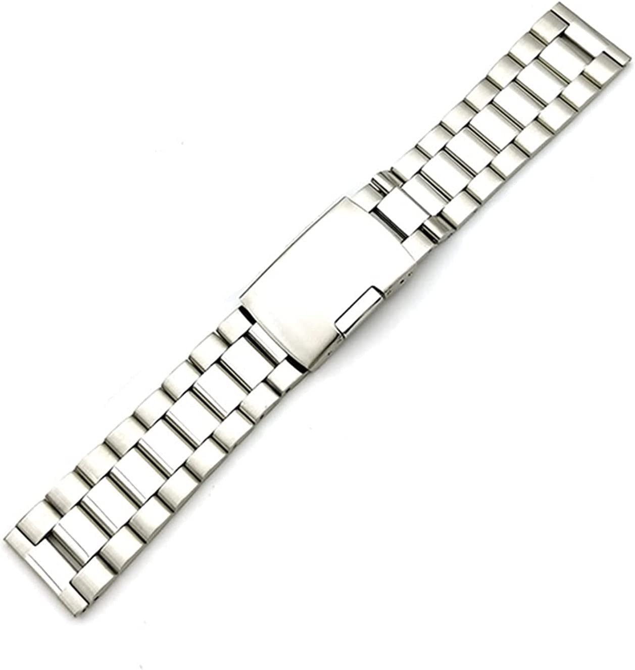ZJSXIA Watch Max 45% OFF Strap Be super welcome Men's and Stainless 18mm Women's Steel