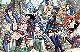 28 cm x 43 cm FAIRY TAIL Poster Popular Poster Anime Japonés 11x17 Inches
