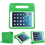 CAM-ULATA Kids Case for iPad Mini 5 2019 Mini 4 2015 Shockproof Light-Weight Durable Protective Convertible Handle Stand Cover Case for Girls Boys Apple Mini 5th Generation 2019 7.9',Green