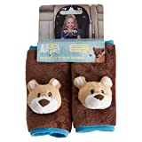 Animal Planet Strap Covers 2 Pack, Brown Bear