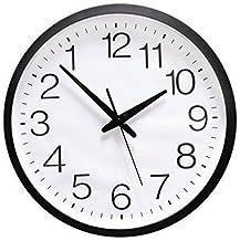 xtmyz Horloge Murale Bricolage Arri/ère Bricolage Grande Horloge Murale Design Moderne num/éros invers/és Montre Murale sans Cadre Effet Miroir de Grosse Aiguille Inverse Horloge