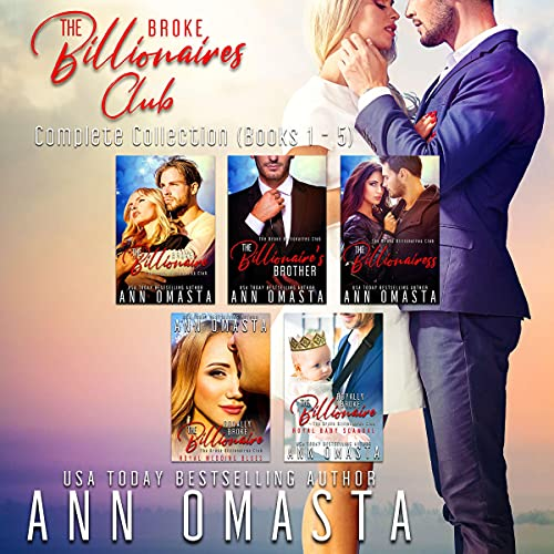 The Broke Billionaires Club (Books 1-5) Audiobook By Ann Omasta cover art