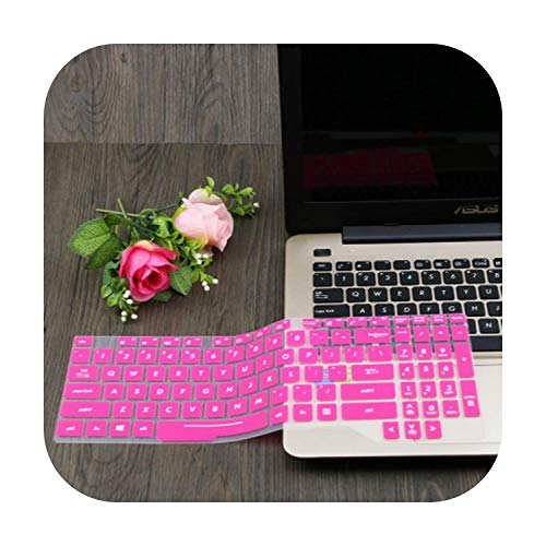 15.6'' Laptop Keyboard Cover Skin Protector for Asus TUF Gaming FX505 fx505ge FX505G FX 505 GD DT GM FX505GM FX505GD fx505DT-Rose-
