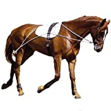 Hunters Saddlery Ultimate Horse Lunging Training Aid System Lunge Equipment (Cob/Horse, White)