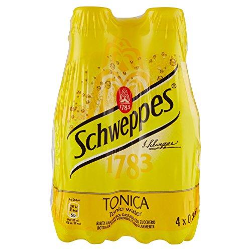 Schweppes Tonica - Confezione da 4 x 250 ml - Totale: 1 Litro