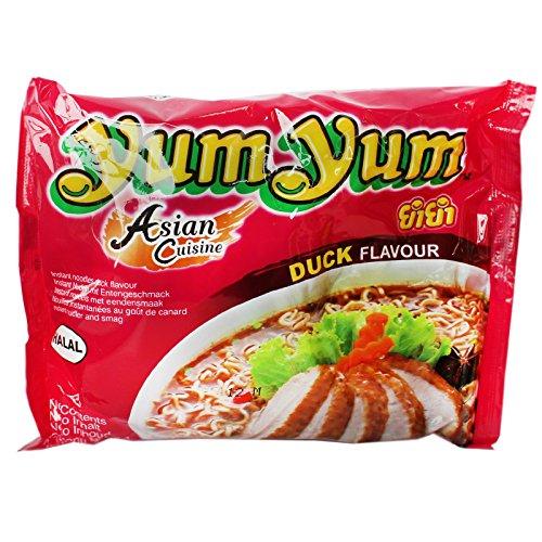 Sparangebot! 180x60g Yum Yum Instant Nudelsuppe mit Entengeschmack