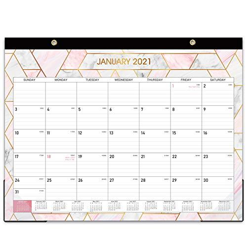 2021 Desk Calendar - Large Monthly Desk ...