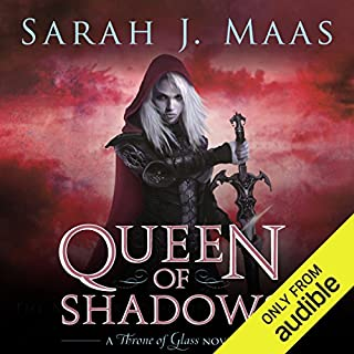 Queen of Shadows                   Written by:                                                                                                                                 Sarah J. Maas                               Narrated by:                                                                                                                                 Elizabeth Evans                      Length: 20 hrs and 43 mins     80 ratings     Overall 4.8