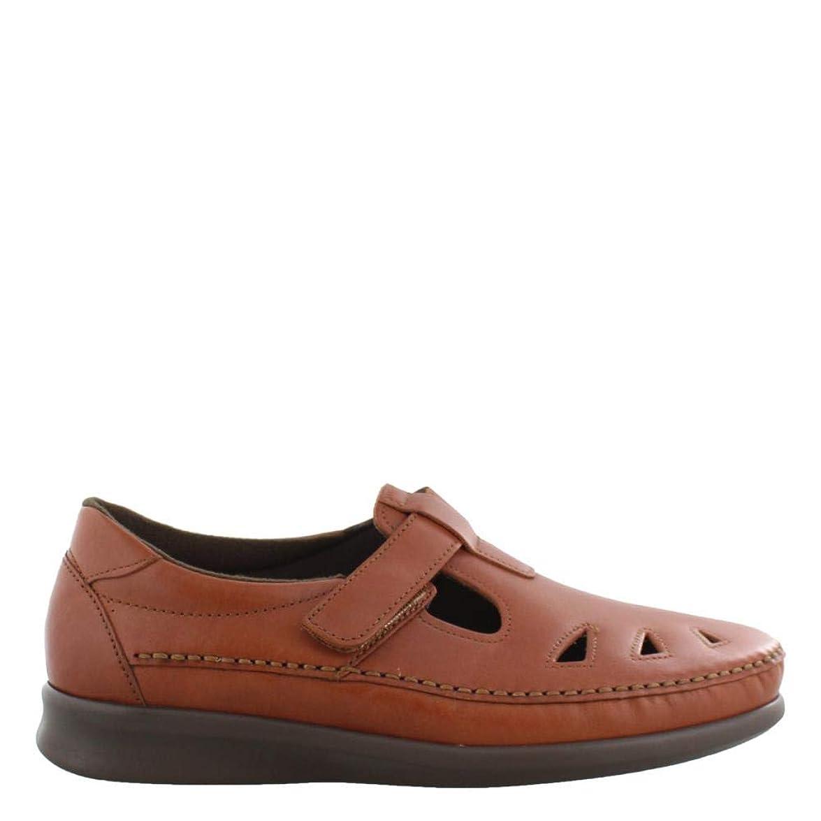 隣接敬の念テーブル[サス] レディース 女性用 シューズ 靴 フラット Roamer - Chestnut [並行輸入品]