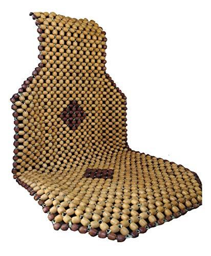 Q1 Beads XLBG Wood car bead seat cover cushion for swift,baleno,Tiago,Polo,Dzire,Etios,chair,truck,SUVs, i10,i20,Ignis,Triber,Seltos,celerio,WagonR,innova,duster,figo,santro,city,Ertiga,Seltos,ciaz