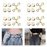 WZT 20 Pieces Adjustable Waist Buckle Extender Set Jeans Extender Waist Extender Button for Pants Adjustable Jean Button Perfect Fit Instant Button