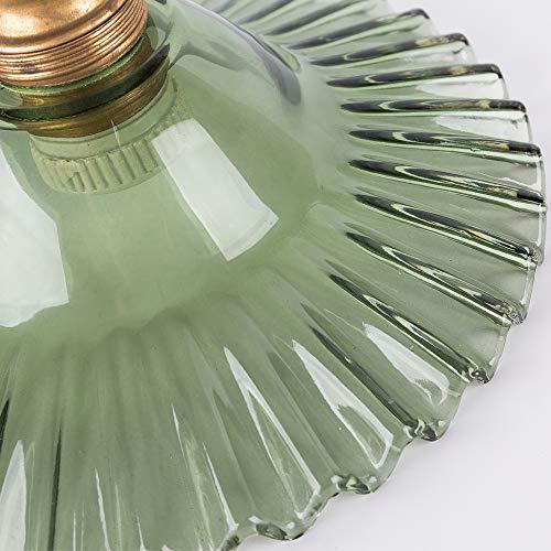 共同照明ペンダントライトガラス1灯照明器具天井E26(GT-DJ-MS)引掛け式北欧おしゃれアンティークレトロガラスシェード付きダイニングリビング居間食卓内玄関カフェー6畳8畳間接照明天井照明電球ソケット
