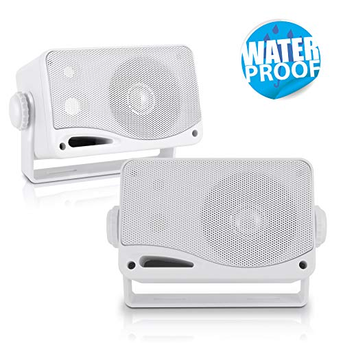 Pyle impermeabile Speaker 3.5 pollici 200 Watt 3 Vie impermeabile mini box