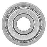 Rodamiento de ranura en V -1 piezas V6000ZZ Rodamientos de bolas de rueda de guía con ranura en V 90 ° para enderezadora de máquina de resorte 10 * 30 * 8 mm