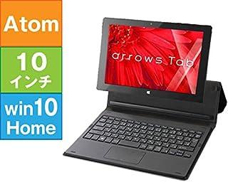 リファビッシュ タブレット パソコン FUJITSU 10.1型 ARROWS Tab QH30/W ブラック [FARQ30WBJ] (Atom x5-Z8300 1.44GHz/ 2GB/ 64GB/ 10Home32bit)