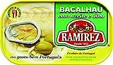 Bacalao com aceite de oliva y ajo Ramirez - 10 unidades x 120 gr