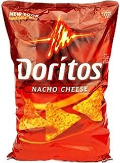 Doritos Nacho Cheese Tortilla Chips Mega Size, 30 Ounce by Doritos