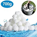 SUPERSUN Balles filtrantes, Boules de Filtre Piscine à sable 700 g Remplace 25 kg
