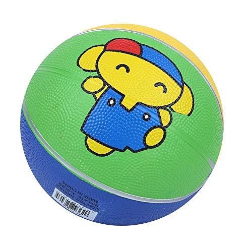 Gummi Kalb Elefant Hochelastische Kindergarten Kinder Mini Basketball Outdoor Soft Basketball Spielzeug für 1-5 Jahre alt