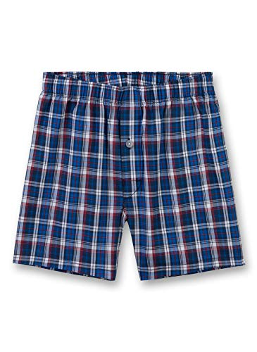 Sanetta Jungen Woven Shorts Boxershorts, Blau (Classic Blue 5968), 140