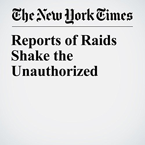 Reports of Raids Shake the Unauthorized audiobook cover art