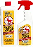 Scent Killer 559 Wildlife Research Super Charged Spray 24/24 Combo, 48 oz.