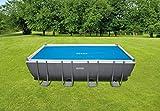 Intex Solar Cover Pool - Solarabdeckplane - 549 x 274 cm - Für Rectangular Frame Pool