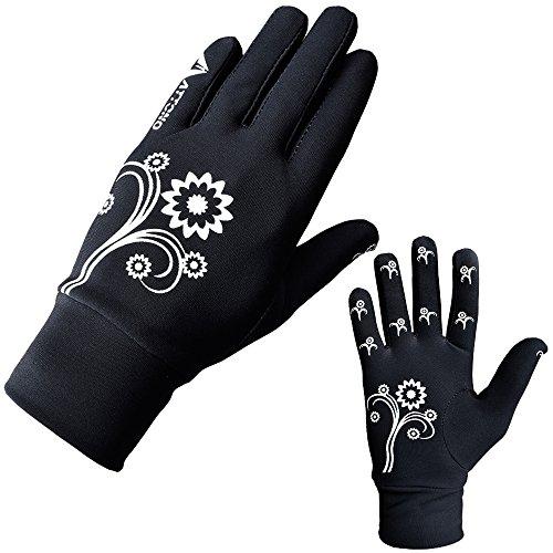 ATTONO Unterziehhandschuhe Winter Jogging Running Walking Langlauf Auto Handschuhe