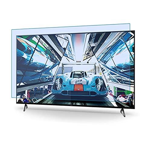 JHZDX 165 cm (65 Zoll), blendfrei, kratzfest, blockiert 96 % UV-Blaulichtschutz für TCL/Samsung/Toshiba/Sony/LG/Hisense, matt, glänzend, 65,1 cm (65 Zoll), 1440 x 809 ohne Blende