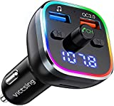 VicTsing FM Transmitter Bluetooth