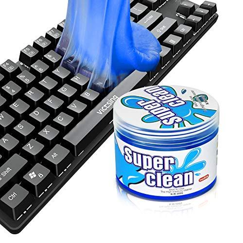 Tastatur Reinigung, 200G Reinigungsknete - Tastatur Staubreiniger Reinigungsgel Tastaturreiniger für Auto, PC Tablet Laptop Tastaturen, Kameras, Drucker, Taschenrechner
