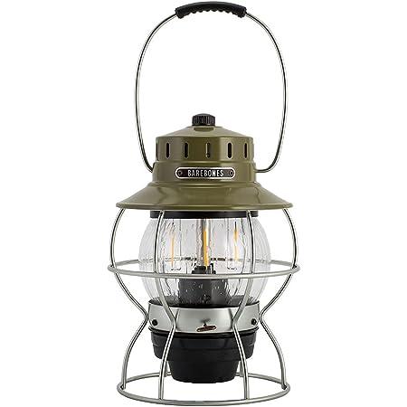 [ ベアボーンズ リビング ] Barebones Living レイルロード ランタン LED Railroad Lantern LIV-280 アンティークブロンズ アウトドア ランプ [並行輸入品]