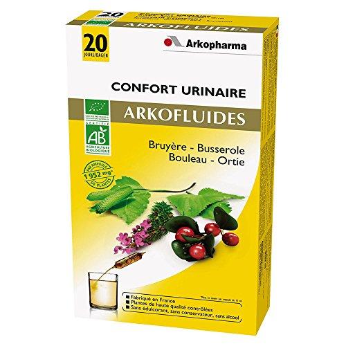 Arkopharma Agriculture Bio Confort Urinaire Extrait Fluides Plantes Bruyère/Busserole/Bouleau/Ortie...