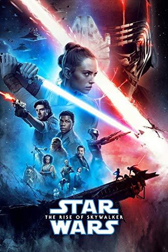 1000 Piezas de Puzzle para Adultos   Carteles de películas de Star Wars: The Rise of Skywalker   Puzzle de 1000 Piezas Puzzle para Adultos   Juguete Regalo para Niños Adultos
