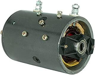 DB Electrical LPL0058 Pump Motor For Mte Hydraulics Fenner Fluid Power Stone / 24 Volt Bi-Directional Slotted Shaft DC/W-8824-P, 46-2421, MMS4001, MMS4001S, M-3500-24V