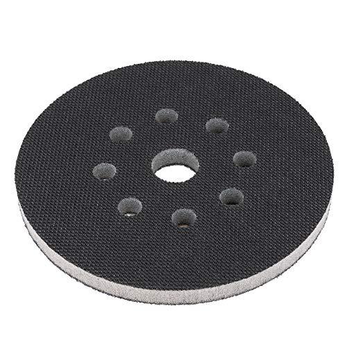 Softauflage 150mm 8-Loch aus Schaum (weich), Interface-Pad soft, Buffer Pad für Schleifteller/Polierteller und Klett-Schleifpapier - DFS