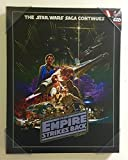 Artissimo Star Wars The Empire Strikes Back Poster on Canvas 18