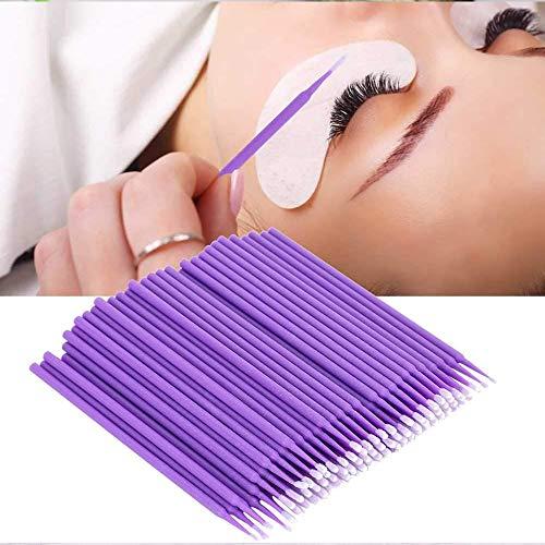 200 Stück Einweg Microbürsten, Einweg Wattestäbchen,Applikatoren Einweg Microbrush,für Wimpernverlängerung Makeup,Zahn- und Sauberkeit