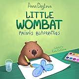 Little Wombat Paints Butterflies