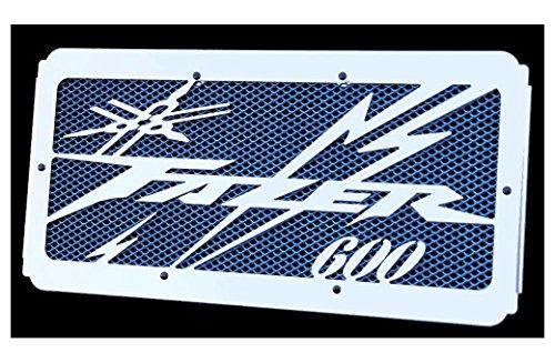 Cache radiateur/Grille de radiateur 600 FZS Fazer 98>01 et 02>03 Design «Eclair » + Grillage Bleu
