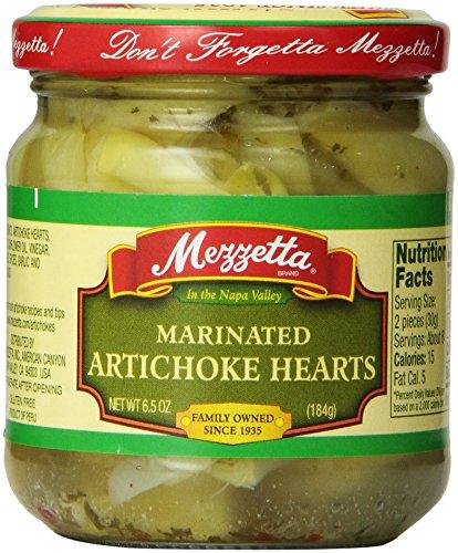 Mezzetta Artichoke Hearts, Marinated, 6.5 Ounce